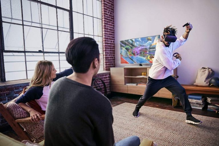 Oculus Quest All-in-one VR Gaming Headset – 64GB 5
