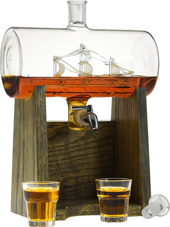 Bourbon Whiskey Decanter - 1150ml