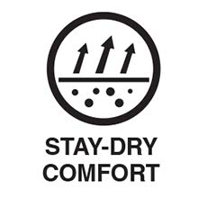 Stay-Dry Comfort