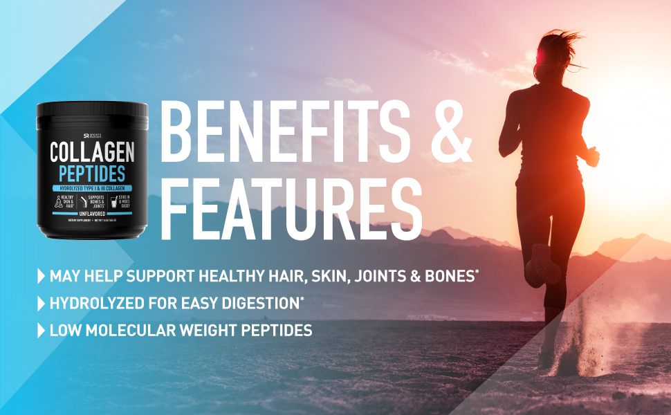 Sports Research Collagen Peptides Features