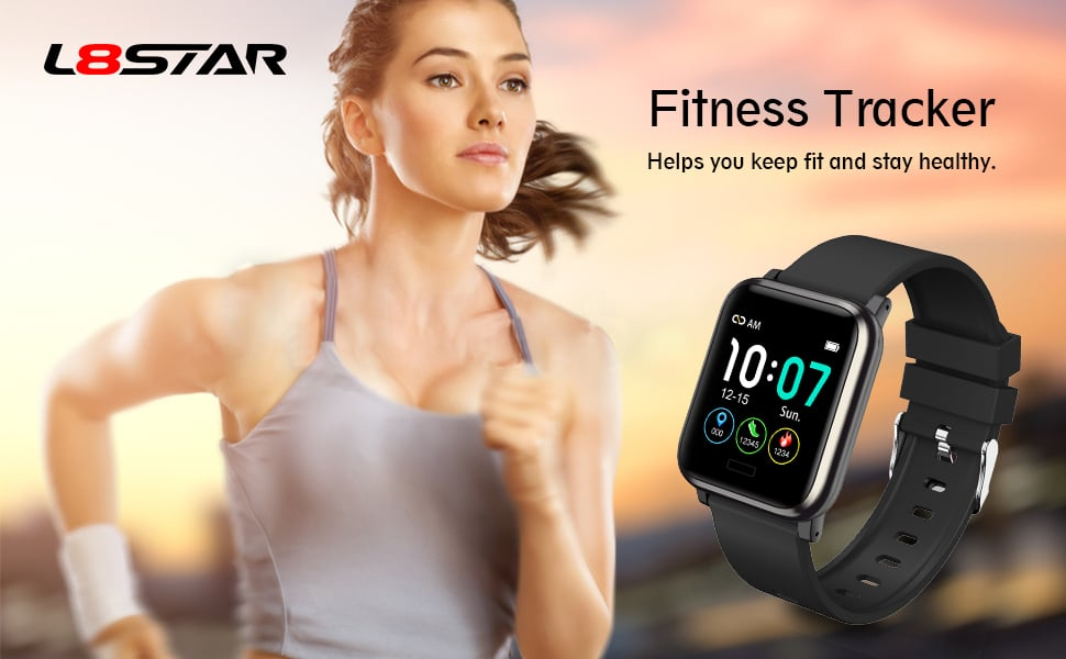 Fitness Tracker smart bracelet smart wristband smart watch heart rate monitor Activity Waterproof