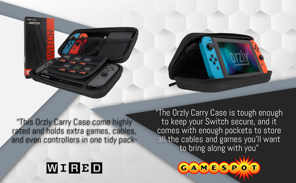 Nintendo Switch Case Orzly