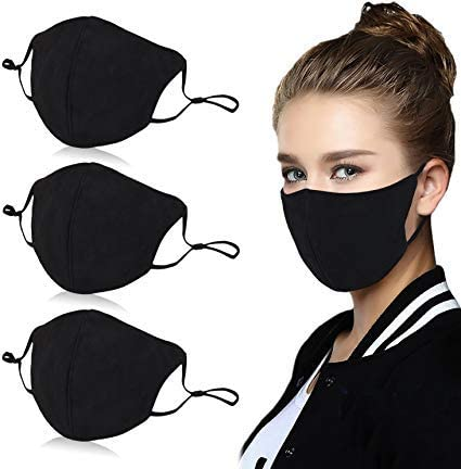 Aniwon 3 Pack Unisex Mouth Mask