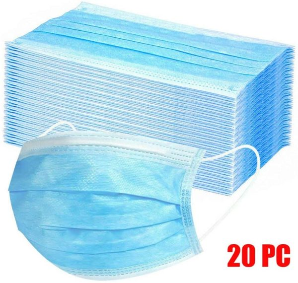 Anti Dust 3 ply Face Masks