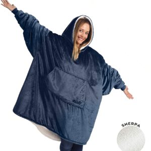 HE COMFY | The Original Oversized Wearable Sherpa Blanket