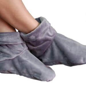 Heated Microwaveable Booties