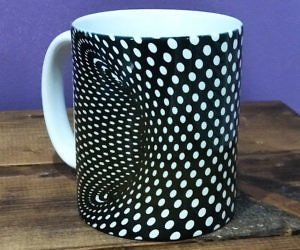 Optical Illusion Coffee Mug