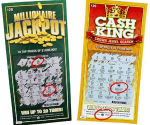 Prank Dollar Lottery Tickets