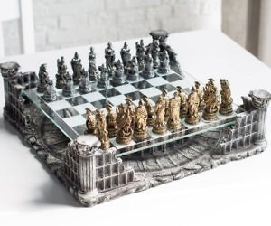Roman Gladiators 3D Chess Set