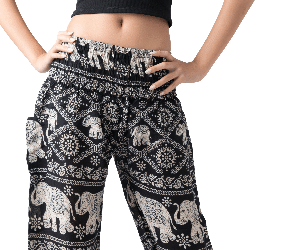 Women's Harem Pants Elephant Lover