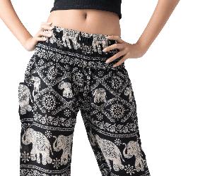 Women's Harem Pants Elephant Lover