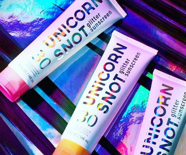 Unicorn Snot Glitter Sunscreen