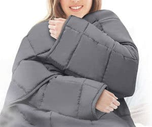 Weighted Blanket With Sleeves