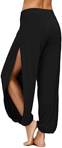AvaCostume High Slit Harem Pants Women Hippie Harem Pants Trousers