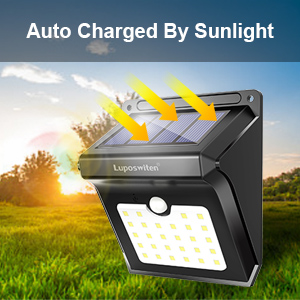 Solar Powered Lights Outdoor