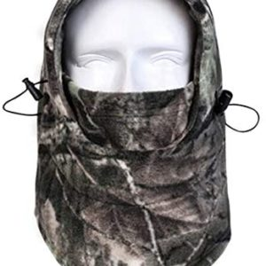 Your Choice Camo Balaclava Ski Face Mask, Camoflauge Neck Warmer, Hunting Gear and Accessories for Men