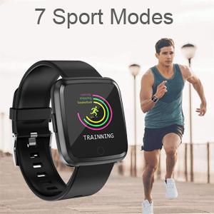 7 sport modes