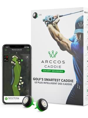 Arccos smart caddie performance tracking system statistics analytics tracker improvement distance