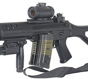 BBTac Double Eagle Airsoft Gun AEG Electric Rifle Full Auto Great Starter with Premium Airsoft Carrying Sling