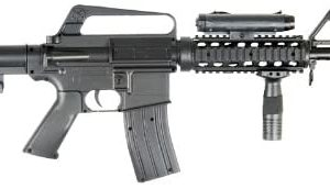 BBTac M16-A4 Airsoft Gun Spring Rifle Shoots 6mm BBS Pellets with Accessories