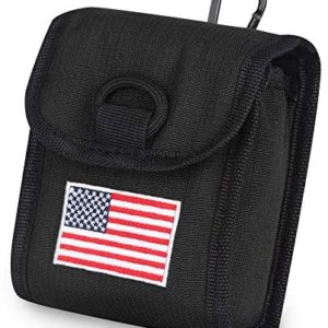 Big Teeth Golf Rangefinder Case Magnetic Closure Carry Case USA Flag for Tectectec Callaway and Most of Brands
