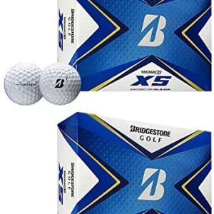Bridgestone Golf 2020 Tour B XS Reactive Urethane Distance White Golf Balls (2 Dozen)