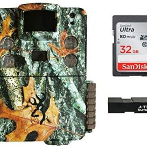 Browning Strike Force HD Pro X (2019) Trail Game Camera Bundle Includes 32GB Memory Card and J-TECH Card Reader (20MP)   BTC5HDPX