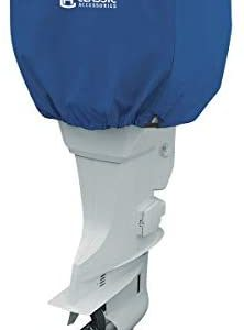 Classic Accessories Stellex Trailerable Outboard Boat Motor Cover (Renewed)
