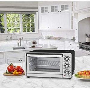 Cuisinart TOB-40FR Custom Classic Toaster Oven Broiler, Silver (Renewed)