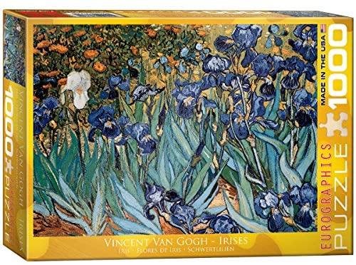 EuroGraphics Irises by Vincent Van Gogh Puzzle (1000-Piece)