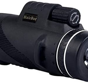 FEDULK High Power 50X60 HD Monocular Telescope Shimmer Night Vision Outdoor Hiking Telescopes