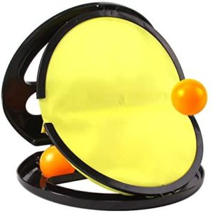Finetoknow Children Hand Ball Catching Sports Games Throw Educational Toy Player Pick Ball for Outdoor