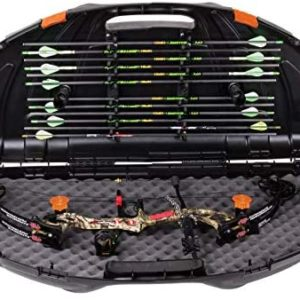 Flambeau Outdoors 6461SC Safe Shot Bow Case, Portable Bow Storage