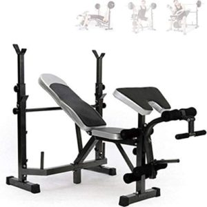 Free-Weight Racks Fitness Equipment Multi-Function Weightlifting Bed Bench Press Rack Barbell Bed Squat Rack Barbell Set Home Bench Press Professional Home Fitness Equipment