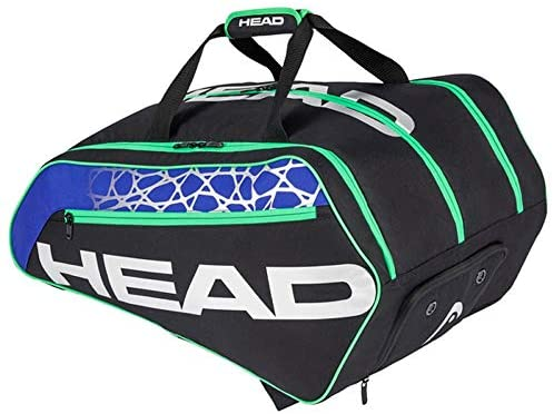 HEAD Racquetball Tour Bag - Racket Bag w/Multiple Compartments & Adjustable Shoulder Straps