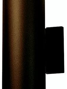 Kichler 9244AZ, Aluminum Outdoor Wall Sconce Lighting, 130 Total Watts, Architectural Bronze
