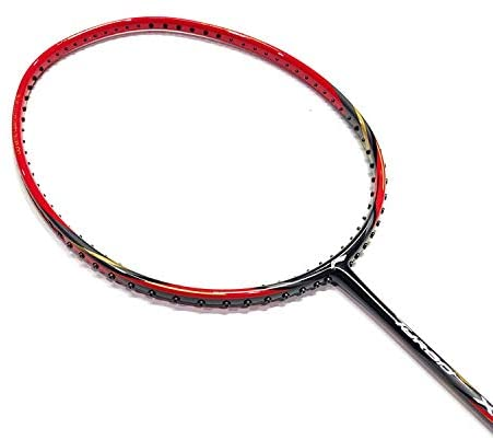 LI-NING Badminton Racket Turbo Series Player Edition Badminton Racquet Light Weight Carbon Graphite Shaft 80+ GMS with Full Carrying Bag Cover