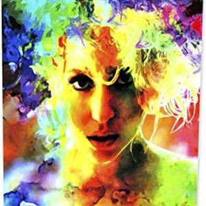 Lady Gaga | Lady Gaga Study 1 | Pop Art Giclee Metal Print by Mark Lewis