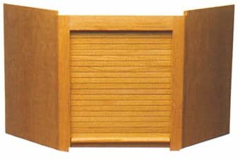 National Corner Appliance Garage Oak