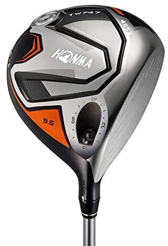 New 2019 Honma TW-747 455 10.5 Justin Rose Driver Graphite Vizard Regular Flex