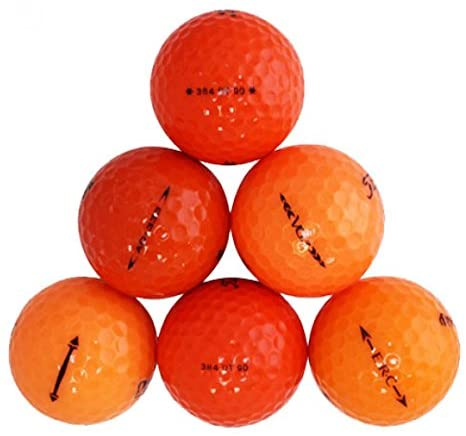 Orange Value Brand Mix Value Mint Quality Golf Balls