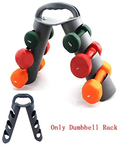 benefit-X Dumbbell Rack, Dumbell Holder, Multifunctional Foldable Three-Layer Dumbbell Holder Stand, Weight Rack for Dumbbells, for Workout Gym Dumbbell Storage Stand, Steel