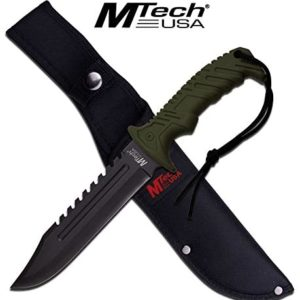 "13"" Tactical Survival Rambo Hunting Fixed Blade Knife Army Bowie w/Sheath"