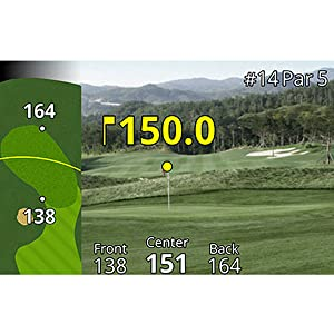 Garmin Approach Z80 Rangefinder with GPS   Hole Green Overlay
