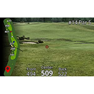 Garmin Approach Z80 Rangefinder with GPS Accurate Front Back Middle Yardage