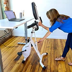 standing desk fitness exercise