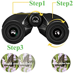 The using methods and specifications about the binoculars
