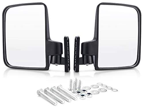 MICTUNING Golf Cart Mirrors Side View Mirrors for Club Car, EZGO, Yamaha