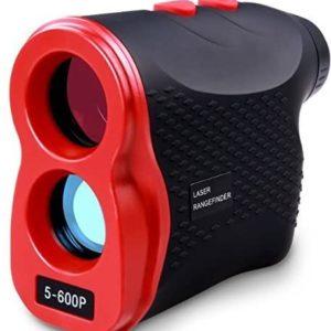 AIKOTOO Golf Rangefinder, Range Finder 600 Yards with Distance for Horizontal Distance Height Speed Measurement, Golf Rangefinder