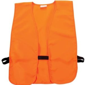 Allen Company Adult Men/Women - Youth - XL Adult Big Man - Blaze Orange Hunting/Safety Vest, Fits Chest Size (26-36 / 38-48 / Up to 60 Inch Chest Size) Small, Medium, Extra Large